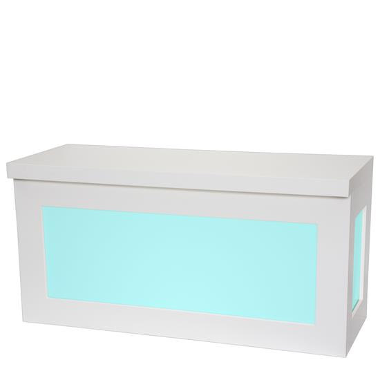 LED Buffet White - Mietmöbel von Eventoutfitter