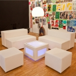 Sitzelement - White - Mietmöbel von ELEMENTS EVENTDESIGN