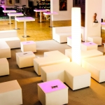 Loungecorner - White - Mietmöbel von ELEMENTS EVENTDESIGN