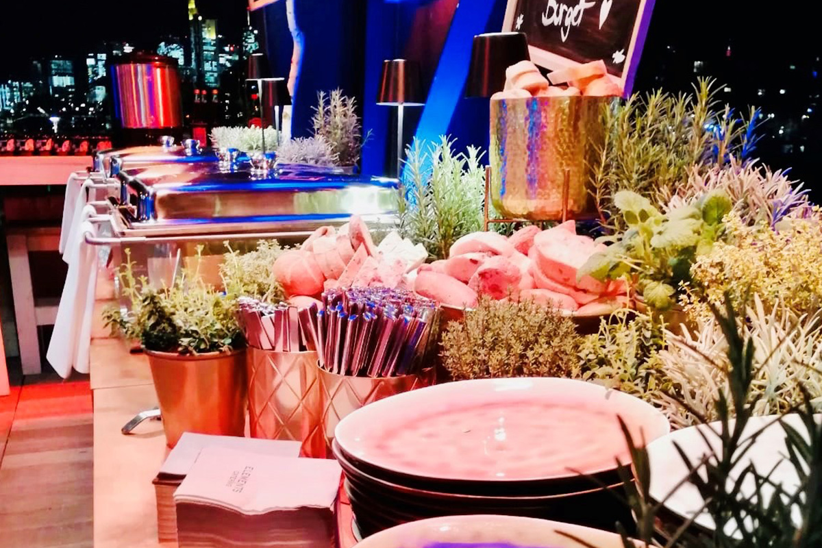 Buffet ElementsUrban   Catering zum Event