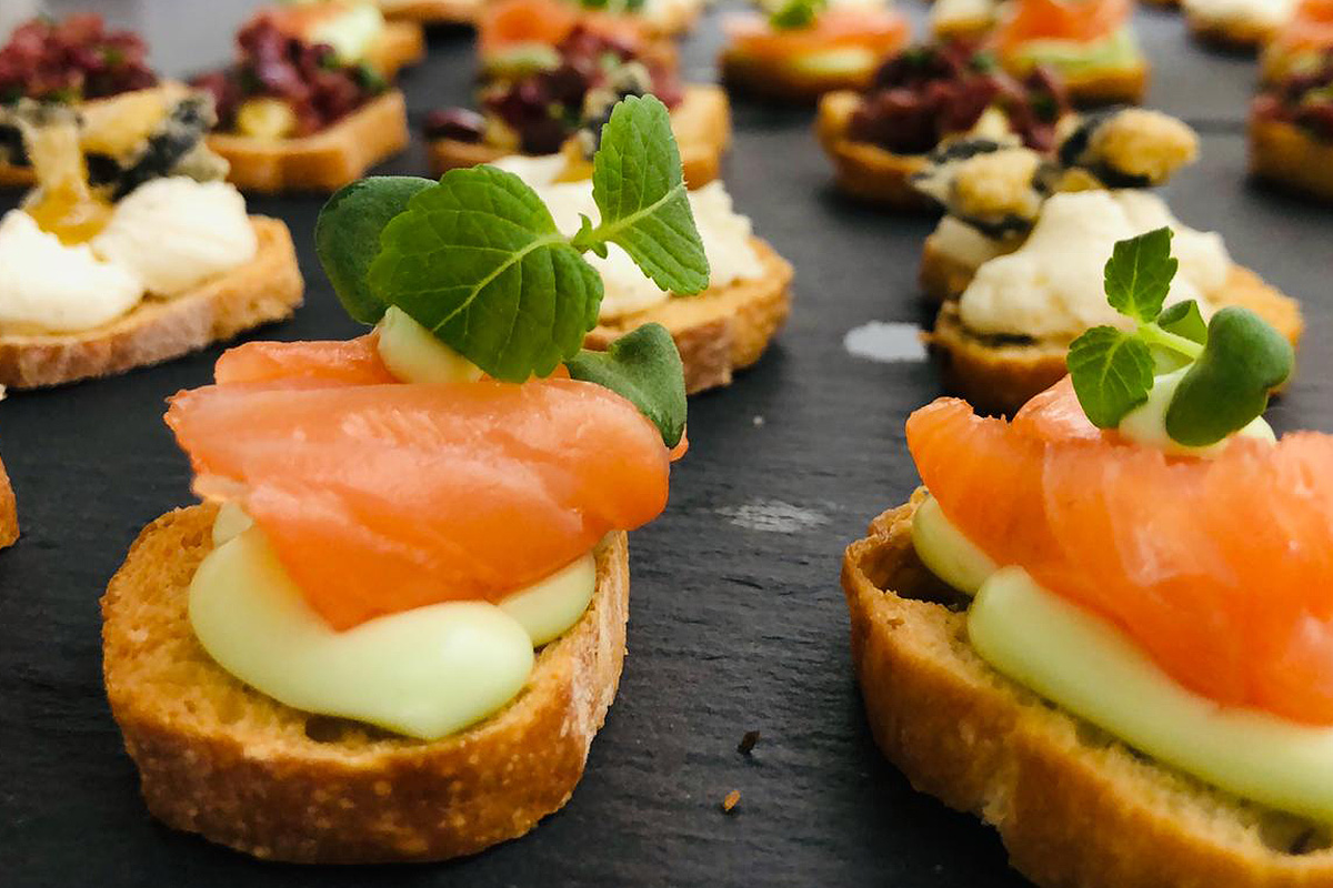 Canapé Catering Frankfurt Messe