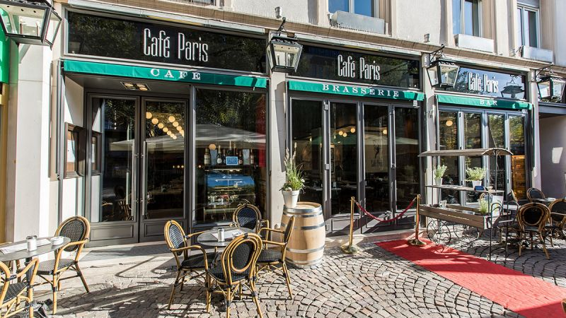Frankfurt Location Café Paris Aussenansicht