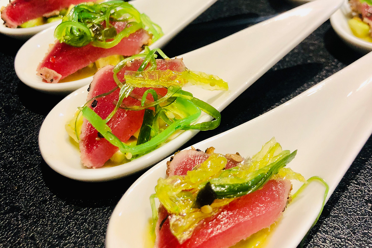 Tuna Fingerfood Elements Catering